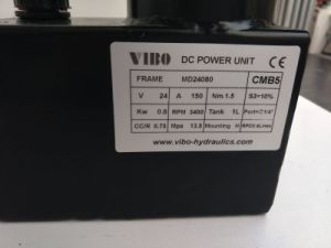 24V 0.8kw Mini Power Unit for Table Lift with Small Tank pictures & photos