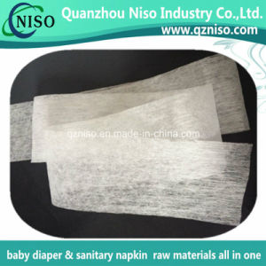 White Adl Nonwoven Fabric for Baby Diaper Raw Materials with SGS pictures & photos