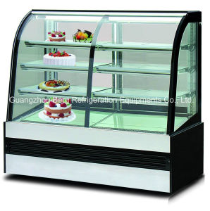 Commercial Marble Cake Pastry Display Refrigerator with Ce pictures & photos