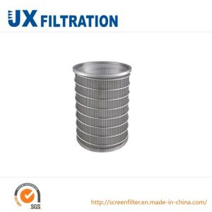 Wedge Wire Screen Cylinder for Industrial Filter pictures & photos
