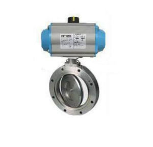 Giq Type Pneumatic High Vacuum Butterfly Valve pictures & photos