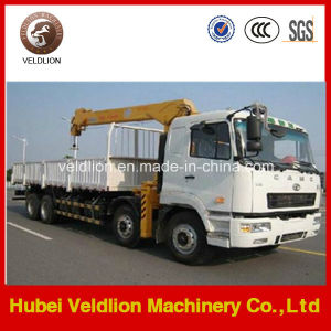 Camc 8X4 16 Ton Truck with Crane (telescopic boom) pictures & photos