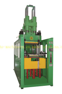 Vertical Type Rubber Silicone Injection Molding Machine for Auto Parts Made in China pictures & photos