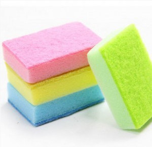 Scouring Pad for Kitchen Cleaning Foam Sponge pictures & photos