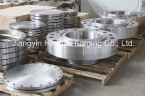 Hot Forged Equipment Flange with T-Shape Groove of Material A105