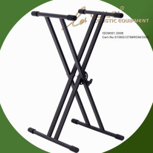 Heavy-Duty Double X Keyboard Stand Ks-10 pictures & photos