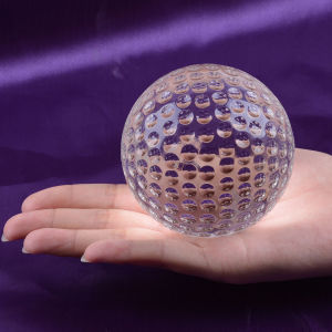 Home Decorative Standard Crystal Golf Ball pictures & photos