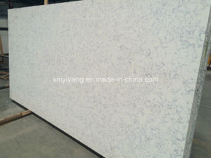 Flower Artificial Quartz Stone Slabs for Kitchen Countertops pictures & photos