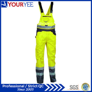 Wholesale Two Tone Safety Reflective Hi Vis Overalls (YBD116) pictures & photos