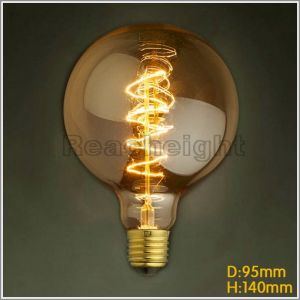 Fg G95 Spiral Round Shape Edison Bulbs Pendant Lamps pictures & photos