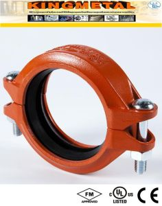 Casting Ductile Iron FM/UL Fire Fittings Rigid Coupling for Fire System pictures & photos