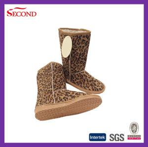 Leopard Printed Winter Indoor Boots