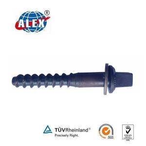 Rail Screw Spike M24*160 Skl14 Railway Fasteners System pictures & photos