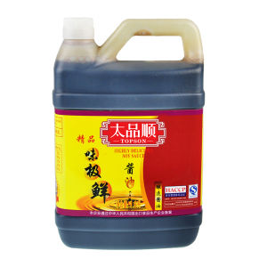 HACCP ISO Mushroom Dark Soy Sauce with Low Price pictures & photos