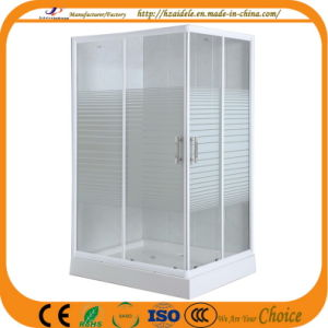 Stripe Glass 120*80cm Shower Room (ADL-8603) pictures & photos