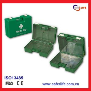 2015 High Quality First Aid Box with Trays First Aid Box Vehicle Tools Emergency Kit First Aid Box with Lock pictures & photos