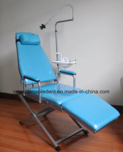 Standard Type Portable Dental Chair Unit with Simple Cuspidor pictures & photos