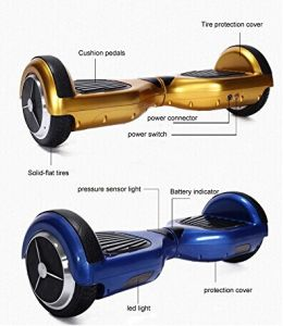Powerboard 6.5/8 Inch 2 Wheel Self Balancing Scooter pictures & photos
