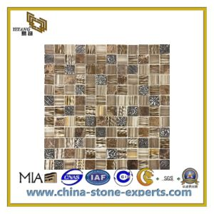 Polished Natural Stone Marble Mosaic Tiles for Flooring/Wall (YQC) pictures & photos