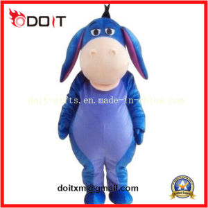 Cute Blue Children Donkey Mascot Costume Made in China pictures & photos