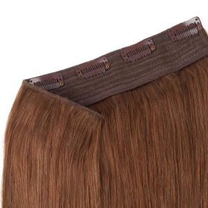 100% Human Hair Straight Clip in Hair Pieces pictures & photos