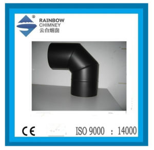 Carbon Steel Single Wall 90 Degree Elbow/Bend for Chimney Pipe pictures & photos