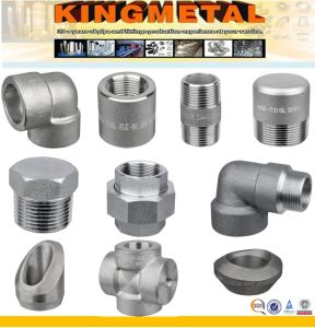 Stainless Steel High Pressure Forged Fittings pictures & photos