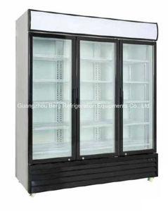 Glass Door Commercial Refrigerator pictures & photos