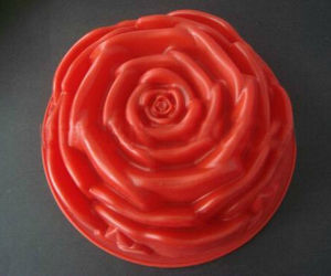 2017 New Fancy Rose Shape Silicone Cake Mold pictures & photos