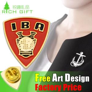 Manufacturer Shield Police Shape Custom Metal Badge pictures & photos
