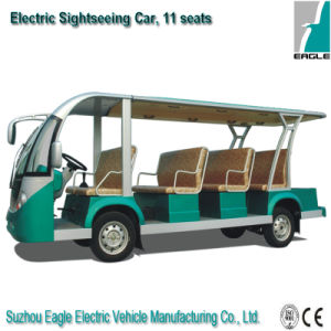 11 Seaters Electric Golf Car/Shuttle Bus Munufacure Low Price Shuttle Bus for Sale pictures & photos