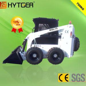 Hytger 0.75ton Wheel Skid Steer Loader pictures & photos
