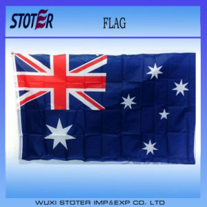 100% Polyester Printing Custom Promotion National Flag