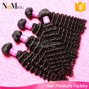 Best Selling 7A Remy Hair Malaysian Virgin Kinky Curly Hair Bundles (QB-MVRH-BW) pictures & photos