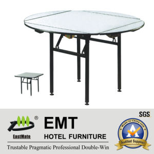 Hotel Banqueting Hall Foldable Banquet Table (EMT-FT601) pictures & photos