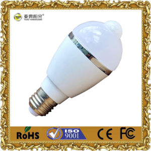 3W/5W/7W/9W Indoor Light LED Bulbs with Sensor