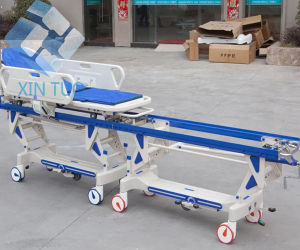 Emergency Delivery Stretcher Bed, Cheap Patient Trolley Price Manufacturer pictures & photos