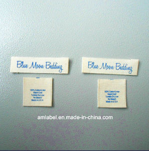High Quality and Cotton Printing Label (AMPL2014032)