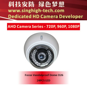 Ahd 1080P Sony Imx322 CMOS Varifocal Vandalproof Dome Ahd Camera (NS-3326V)
