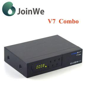 Freesat V7 Combo FTA Satellite DVB-S2 DVB-T2 pictures & photos