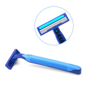 Bag Packing Triple Blade Stainless Steel Disposable Razor (JG-PB-10) pictures & photos