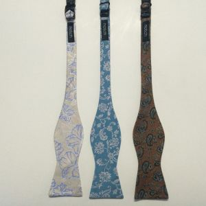 Men′s High Quality Paisley Design Woven Silk Self Bow Ties pictures & photos