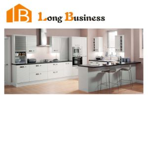 China modular melamine kitchen cabinet designs lb jx1039 for Melamine kitchen designs