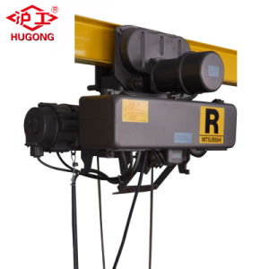 380V 3 Phase Electric Wire Rope Hoist with Wireless Control pictures & photos
