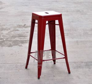 Tolix Bar Stool Restaurant Furniture Industrial Steel Antique Barstool pictures & photos