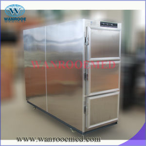 Ga303 Hospital Cold Storage Side Loading Mortuary Corpse Refrigerator for Funeral pictures & photos