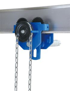 Manual Plain Trolley for Chain Block 0.5tons pictures & photos