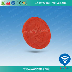 High Frequency 13.56MHz Mf S50 1k NFC Subway Coin Tag pictures & photos