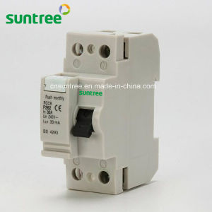 30mA 100mA Series RCD ELCB RCCB Circuit Breaker pictures & photos