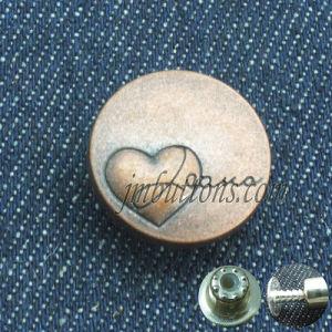 Antique Brass Jeans Metal Button for Garments pictures & photos